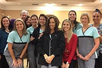 Friendly smiling Tallahassee dental team